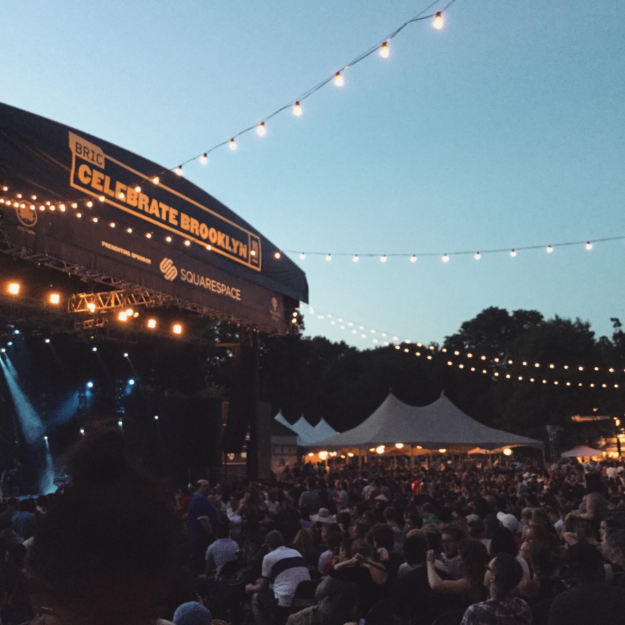 Celebrate Brooklyn stage