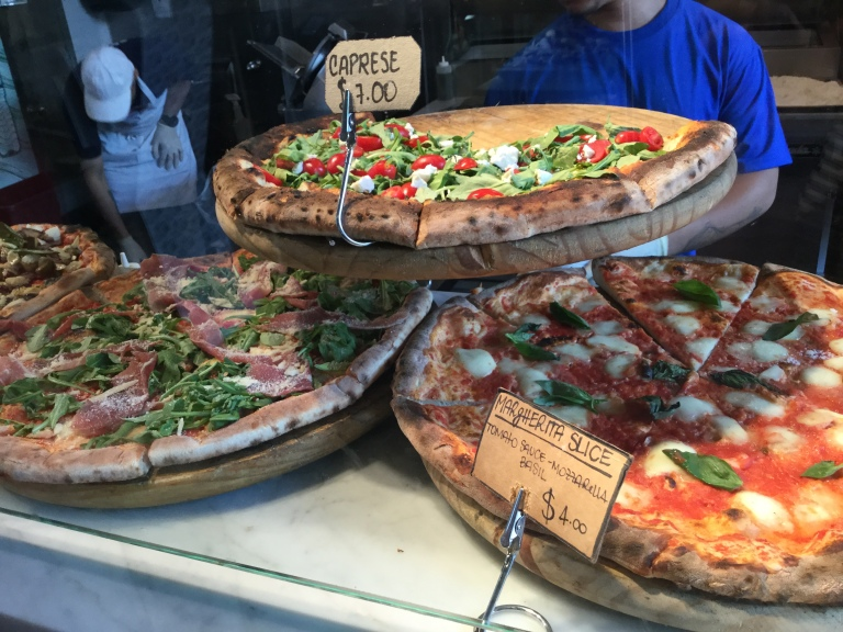 Pizza at chelsea