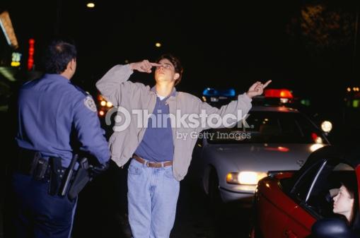 drunk man police