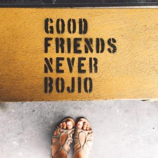 """""""Los buenos amigos invitan"""" - El espíritu malayo."""